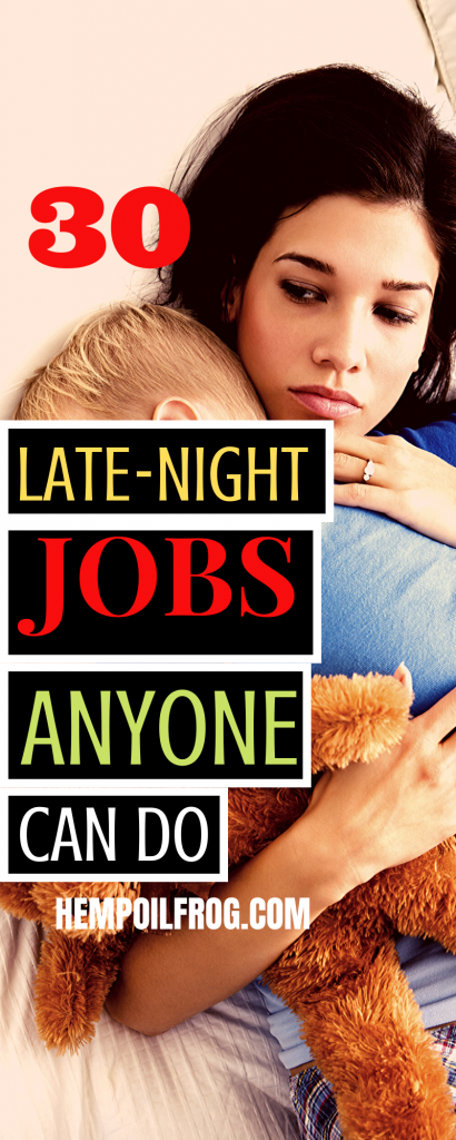 Late Night Work From Home Jobs